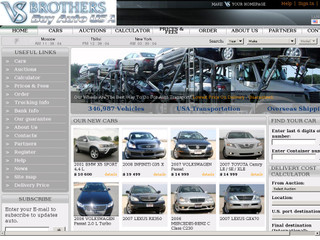 V&S Brothers Inc Cars From USA