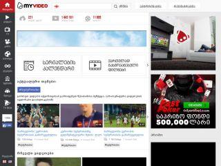MyVideo.GE - ვიდეო პორტალი