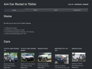 4x4 Car Rental in Tbilisi